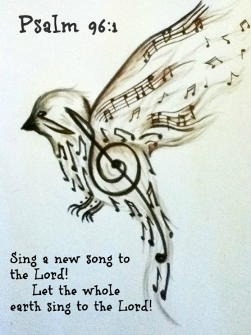 Image result for bible verses a song to sing