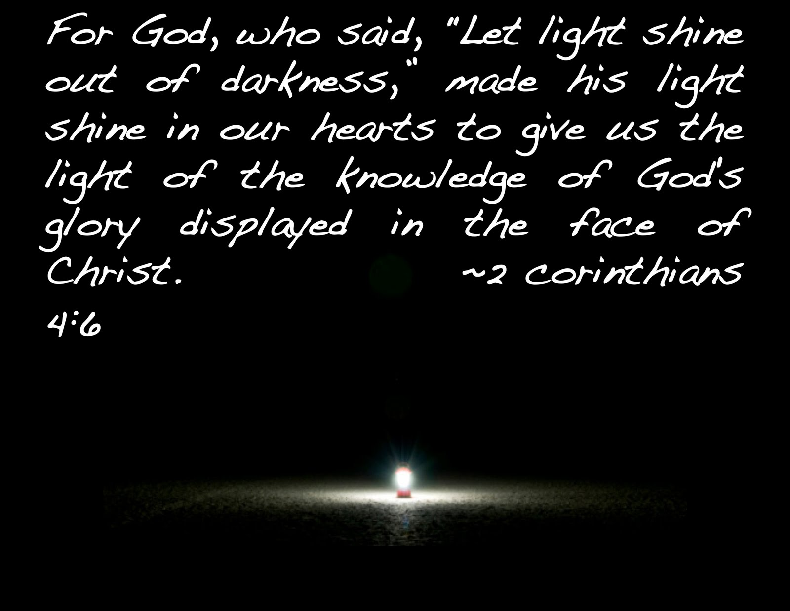 Image result for bible verses on light in the darkness