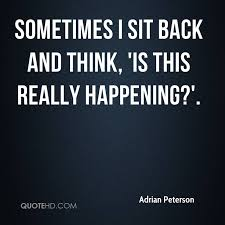 Adrian Peterson Quotes | QuoteHD
